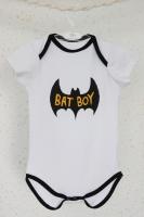 "Боди ""Bat boy"" (белый)"