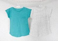 Набор футболок (бирюзовая, молочная)
