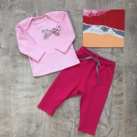 Топ с бантиком (розовый)
