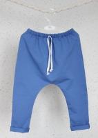 Брюки с карманом Гаремы (голубой)