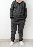 Спортивный костюм (серый меланж)