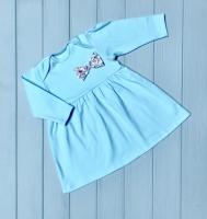 Платье(голубое)