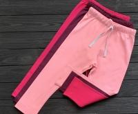 Брюки прямые (светло-розовый)